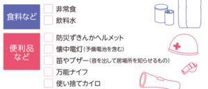 防災 グッズ リスト 100均 ヒャキン 百円 100円 地震 水害 台風 防災セット