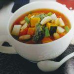 デトックススープレシピ①地中海式フランス風『バジルソースの野菜スープ』